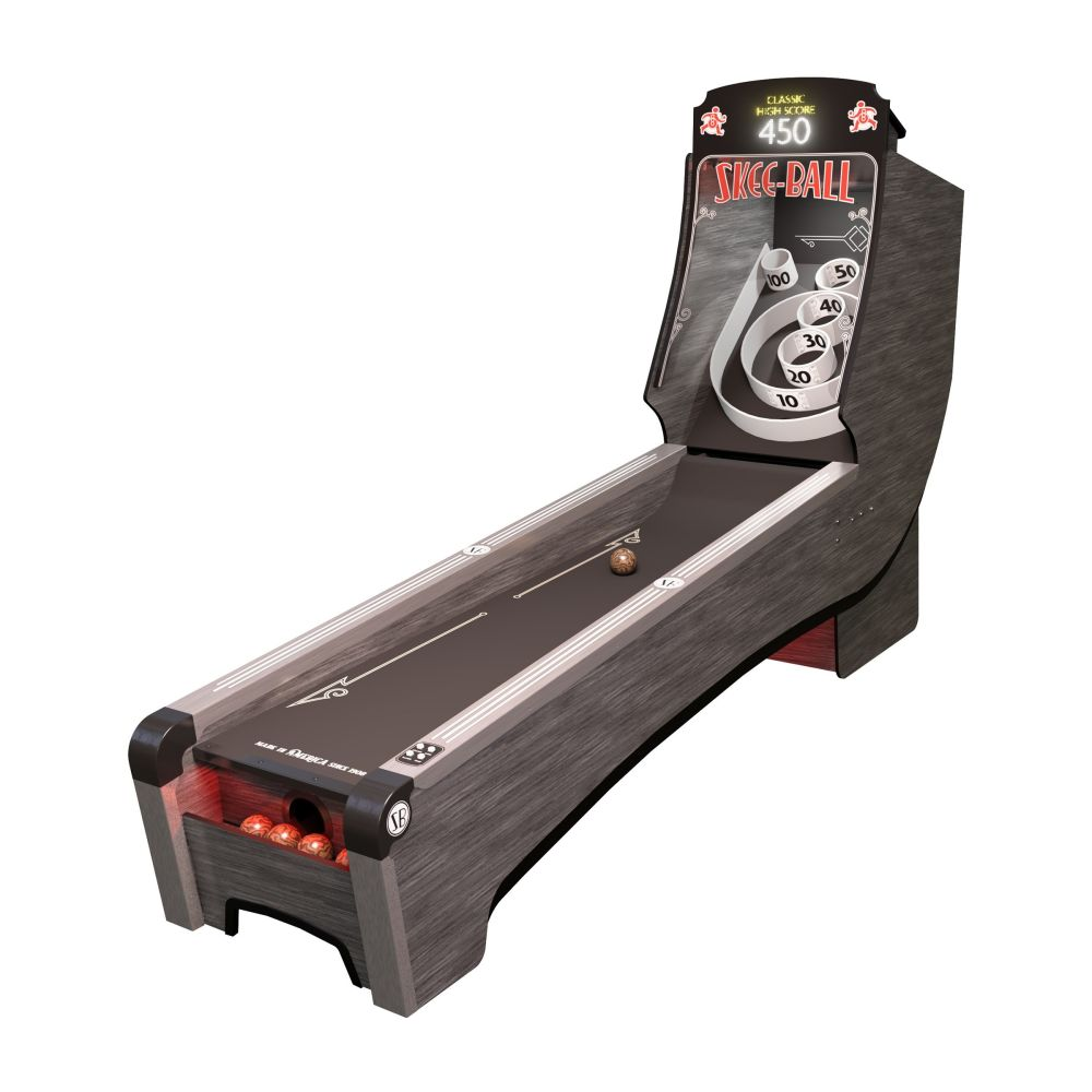 Skee-Ball Arcade machine with Coal Cork!