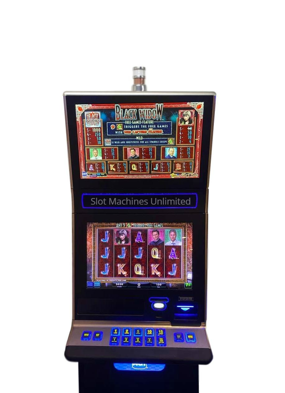 Igt Slot Machine All 9 On Displays