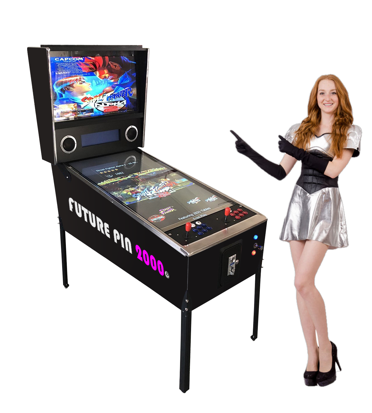 FUTURE PIN 2000™ Virtual Pinball Machine Includes Over 2,000 Games! Large-42