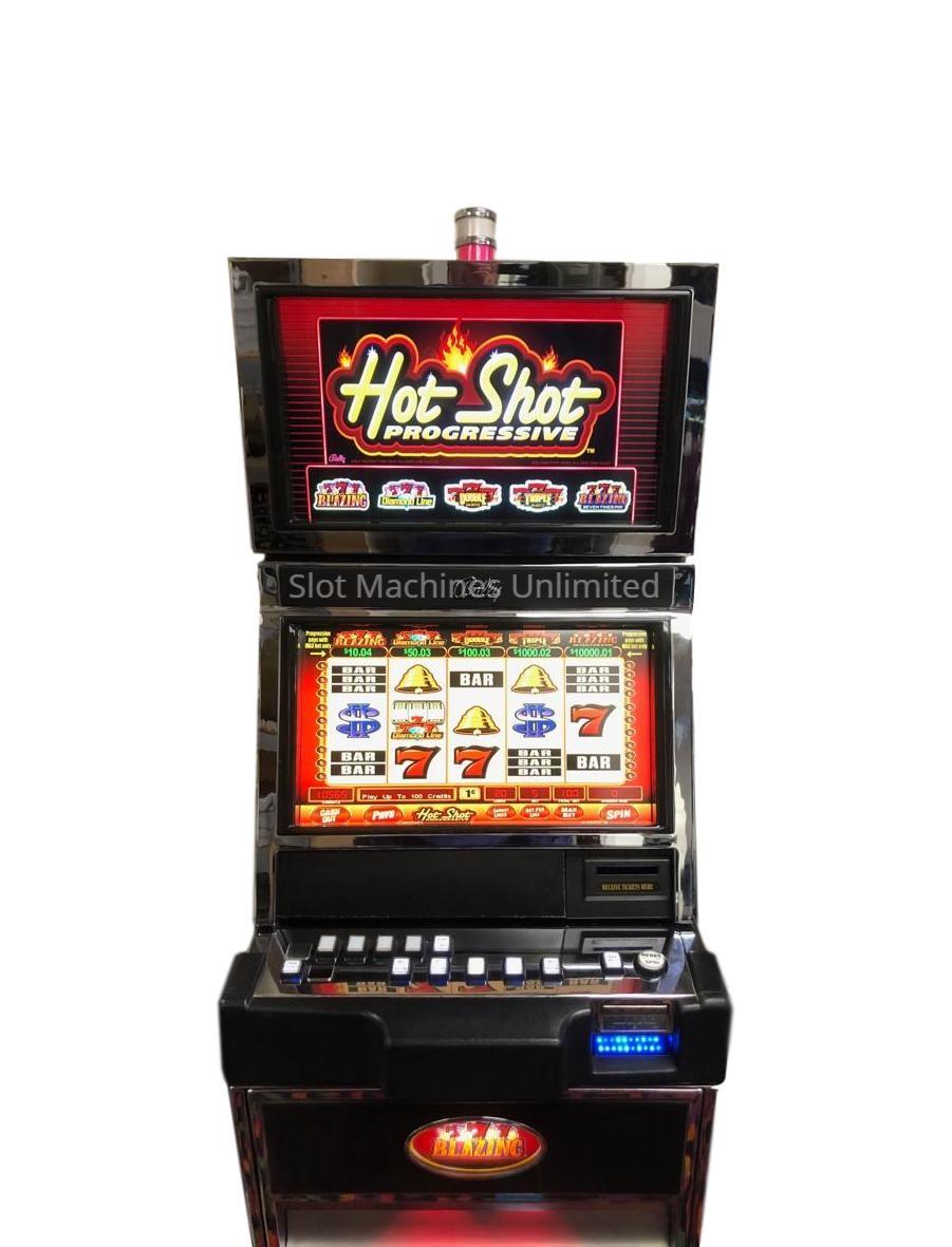 Red hot progressive slot machines