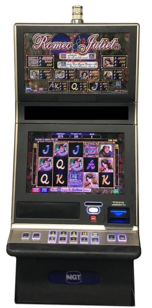 Romeo And Juliet Slot Machine