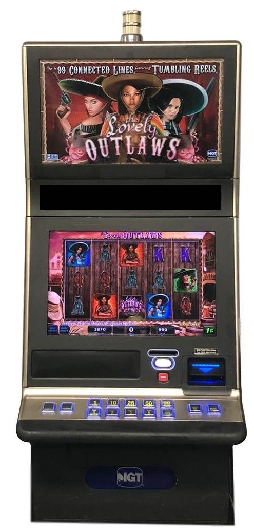The Lovely Outlaws Slot Machine