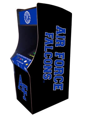 Airforce Falcons Collegiate Theme Upright Game Multi-Game (60&1)