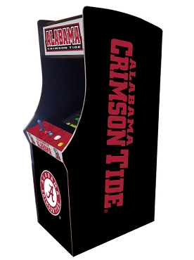 Alabama Crimson Tide Collegiate Theme Upright Game Multi-Game (60&1)