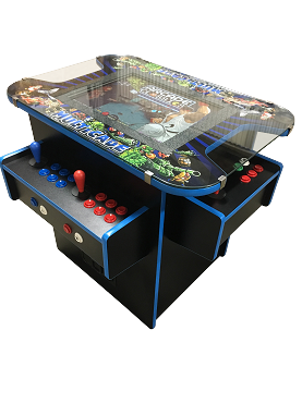 NEW AGE ARCADE Cocktail Arcade Machine! (3-sided) (5700 Games In One)