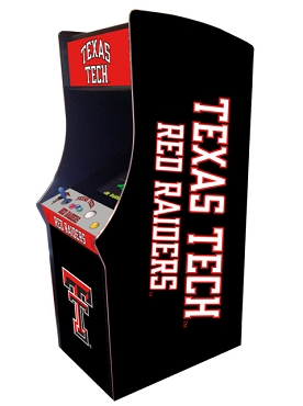 Texas Tech Red Raiders Collegiate Theme Upright Game Multi-Game (60&1)