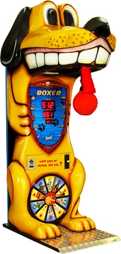 ARCADE BOXER Dog Boxer Boxing machine!