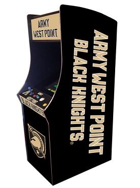 Army West Point Black Nights Collegiate Theme Upright Game Multi-Game (60&1)