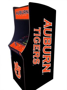 Auburn Tigers Collegiate Theme Upright Game Multi-Game (60&1)