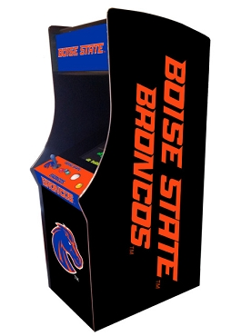 Boise State Broncos Collegiate Theme Upright Game Multi-Game (60&1)