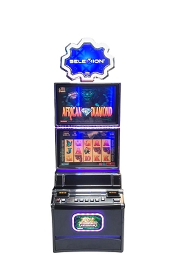 African Diamond Konami slot machine multigame