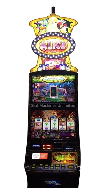 Alice in Wonderland Williams Slot machines