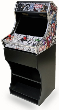 Bartop Arcade Stand Cabinet (Made to Fit MegaKade Bartop Arcade Machines!