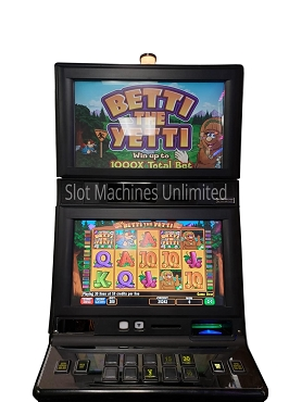 Betti the Yetti IGT Slot Machine