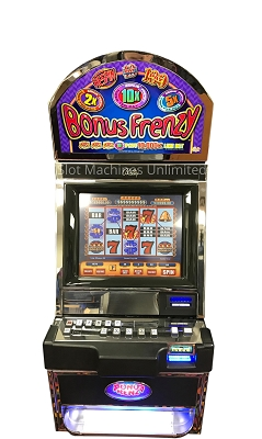 Bally Bonus Frenzy Slot Machine