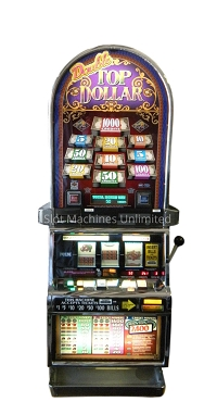 Double Top Dollar IGT Slot Machine