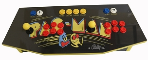 MegaKade Control Panel (17,000+ Games) (Pac-Man Theme)