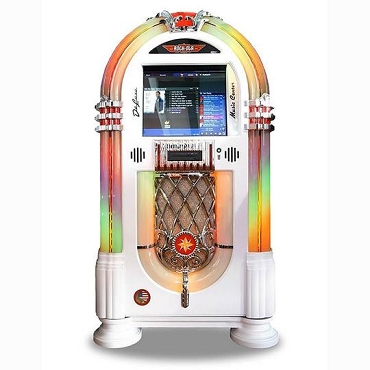 ROCK-OLA JUKEBOX MUSIC CENTER (Gloss White)