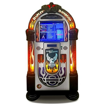 ROCK-OLA JUKEBOX MUSIC CENTER (Harley Davidson)