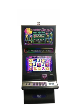 I Dream of Jeannie Magic Carpet Ride IGT Slot Machine