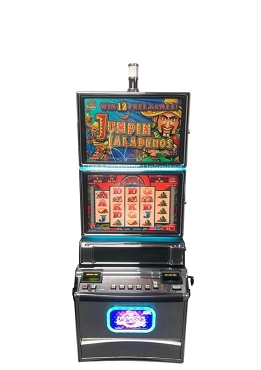 Jumpin Jalapenos Konami Podium Slot machine
