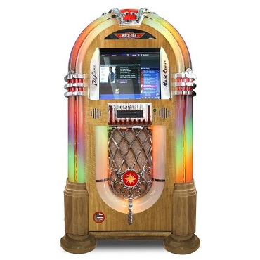 ROCK-OLA JUKEBOX MUSIC CENTER (Light Oak)