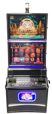 Lotus Land Tiger's Winnings Konami Podium Slot machine