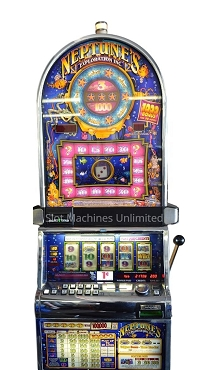 King Neptune's Exploration IGT Slot Machine