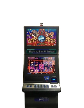 Ringling Brothers Barnum & Bailey IGT Slot machine