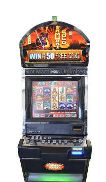 Bally Samurai Gold Slot Machine