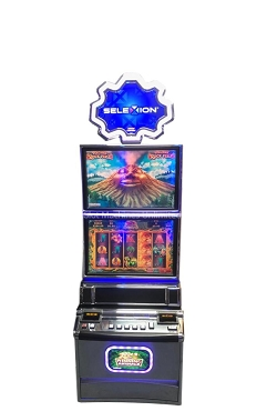 Volcanic Rock Fire Konami slot machine multigame