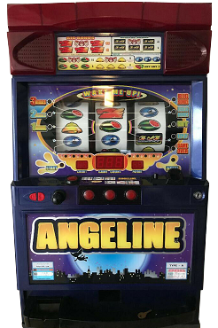 Pachislo Slot Machine (ANGELINE) Quarter or Token Operated
