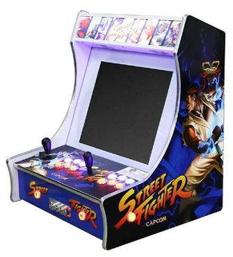ARCADE BAR-TOP DELUXE 2,200 &1 Bar-Top Game
