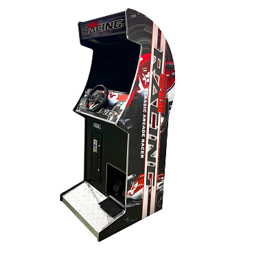CLASSIC ARCADE RACING MACHINE! Upright Game Cabinet| 129 Racing Games | 27
