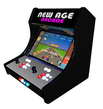 NEW AGE ARCADE 15K Bar-Top (15,000 Games In One)