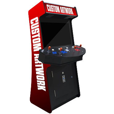 Arcade Slim 3,500 Classic Games 4 Player Stand-Up Arcade Machine | 32