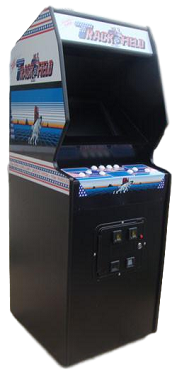 TRACK & FIELD ARCADE GAME (Upright Game)