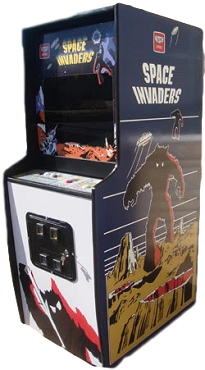 SPACE INVADERS ARCADE GAME (Upright Game)