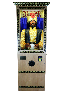 ZOLTAR Economy – Fortune Teller Arcade Machine (Wood)