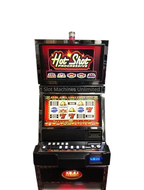 Bally Hot Shot Progressive Slot Machine