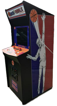 NBA JAM TOURNAMENT EDITION ARCADE GAME (Upright Game) (With LARGE 27