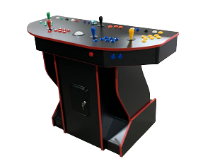 NEW AGE ARCADE ULTIMATE  Arcade PEDESTAL! (2,500 Games In One) (4-player) (Includes Trackball and Spinner!)