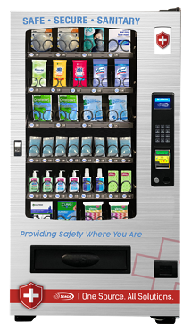 INFINITY 4-WIDE PPE Vending Machine Model (INF-42-PPE)