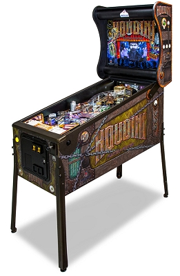 HOUIDINI PINBALL MACHINE
