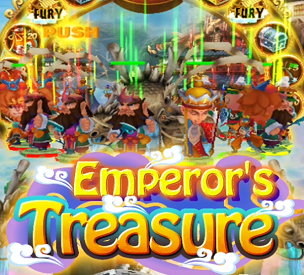 Emperor's Treasure Coin Pusher (For Cab-style Digital Coin Pusher)