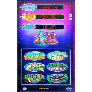 Platinum Touch 2k20 Vertical Multi Game  (For Cab-style D)