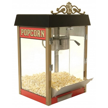 Street Vendor Popcorn Machine - 4 oz Kettle