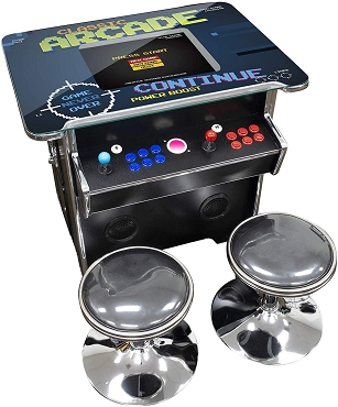 3,500 Games Single Side 2 Player Cocktail Table Arcade Machine with 19