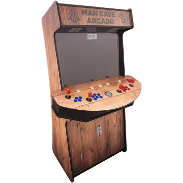 4 Player Stand Up Slim | 3500 Games | Wood Grain | 32