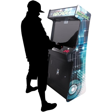 IN THE NEW AGE Slim 3,500 Classic Games 2 Player Stand-Up Arcade Machine | 32